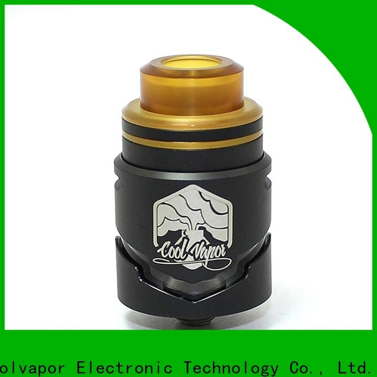 Coolvapor Wholesale rta tank company for flavor
