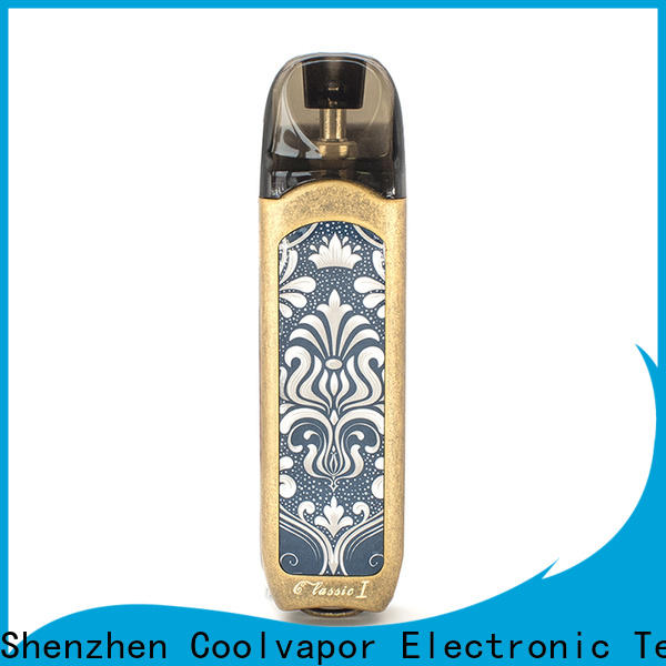 Coolvapor New pod deals suppliers for quitters