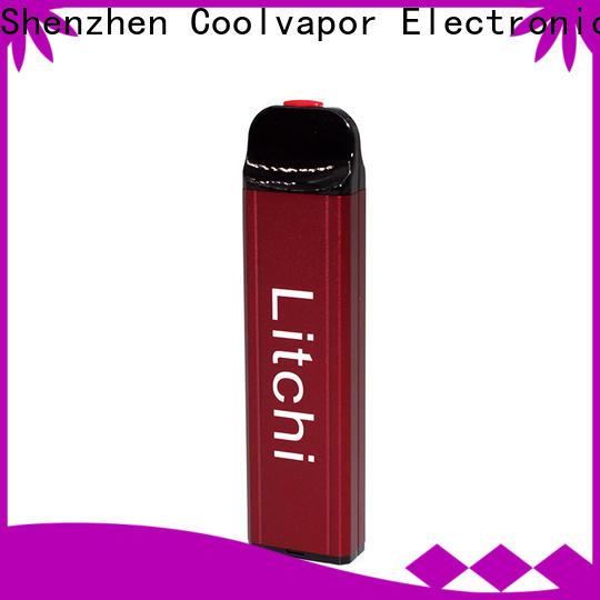Wholesale refillable vape pen pods company for regular juice