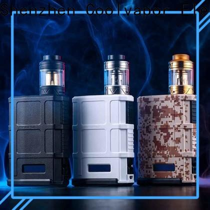 Coolvapor Custom box mod starter kits suppliers for quitters