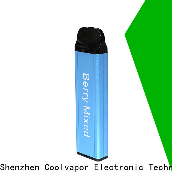 Coolvapor Best pod cig for business for smokers