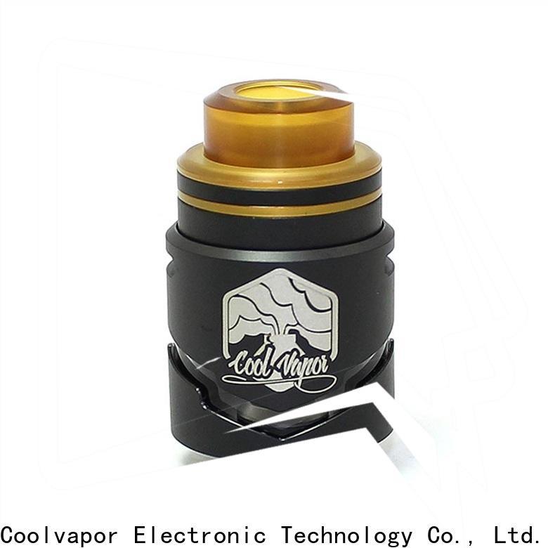 Coolvapor Top rebuildable tank atomizer suppliers for regular juice