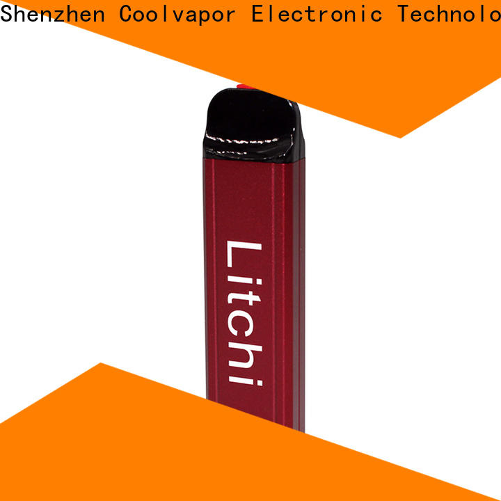 Coolvapor Custom disposable vape factory for smokers