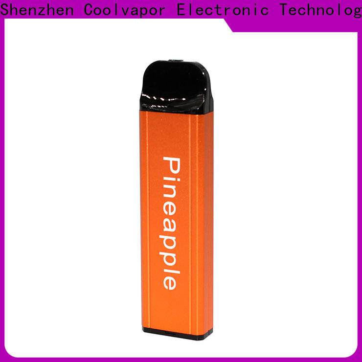 Coolvapor mixed pod cig manufacturers for smokers