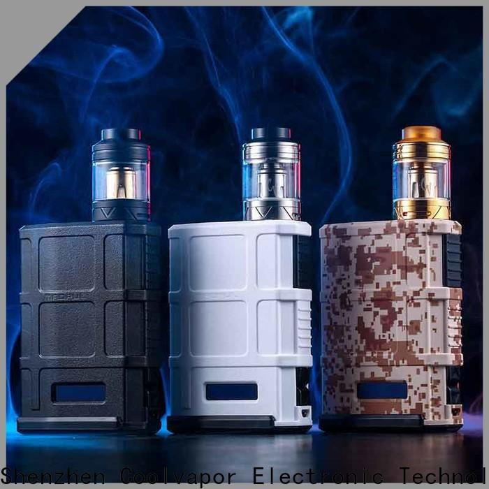Coolvapor pod box mod kits supply for quitters