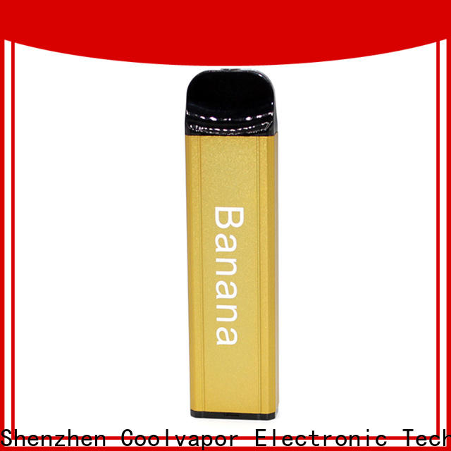 High-quality coolvapor disposable pods coolvapor for business for regular juice