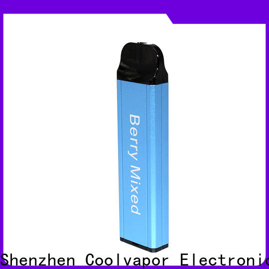 Coolvapor Latest disposable vape supply for regular juice