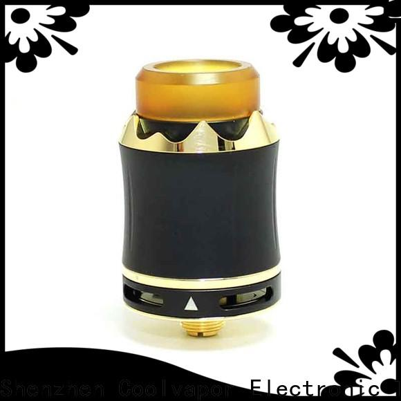 Coolvapor Top quad post rda manufacturers for quitters