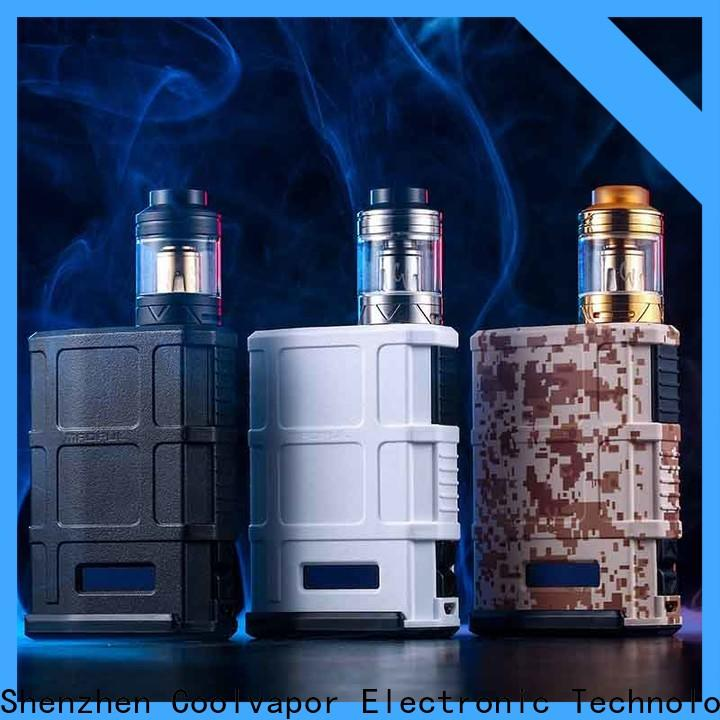 Coolvapor Latest tube mod 18650 factory for quitters