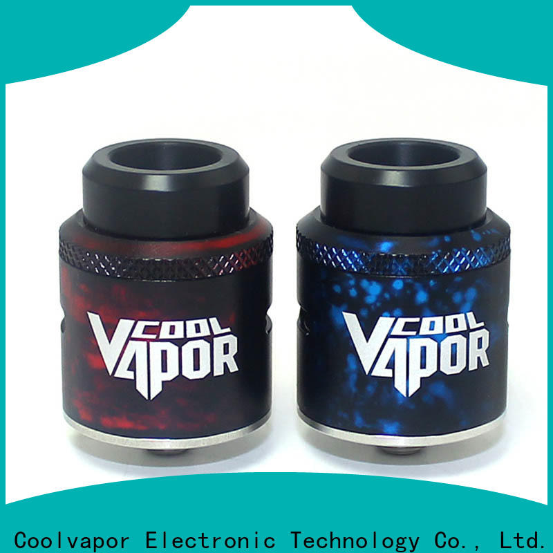 Coolvapor Custom top rda company for quitters