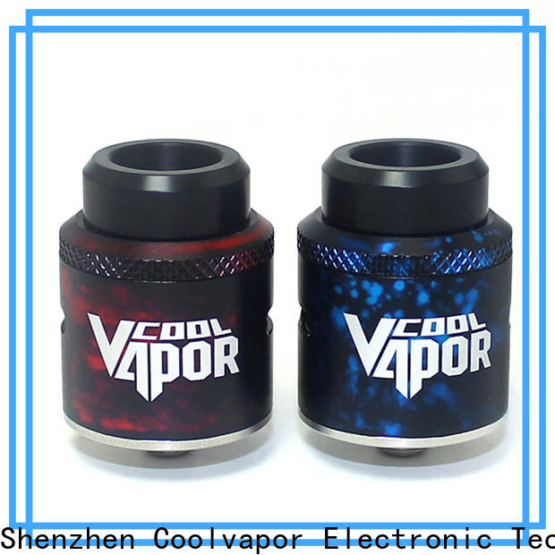 Coolvapor Wholesale rda style factory for quitters