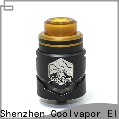 Coolvapor dual rda with tank on bottom suppliers for regular juice