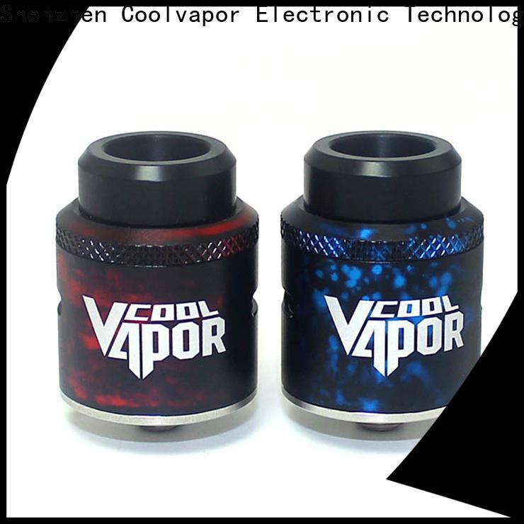 Coolvapor Custom best dripper rda factory for smokers