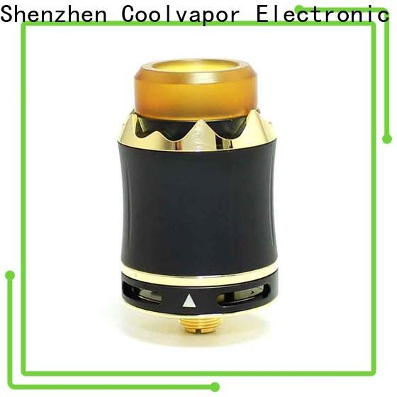 Coolvapor High-quality rda with two posts company for smokers