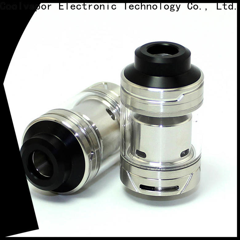 Coolvapor mgtk white goon rda supply for quitters