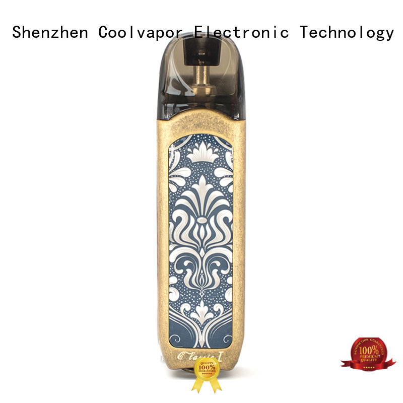 Coolvapor copper pod packaging for business for smokers
