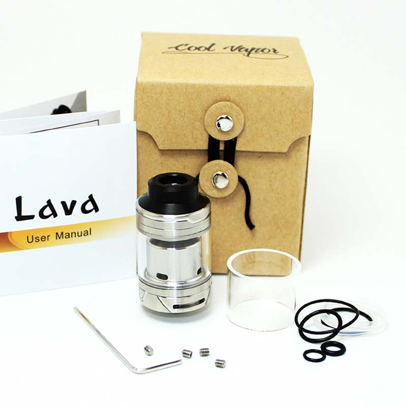 Coolvapor Latest best selling rda factory for flavor-10