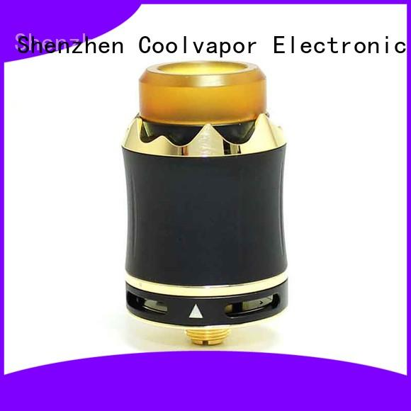 Coolvapor Custom top cloud chasing rda company for flavor