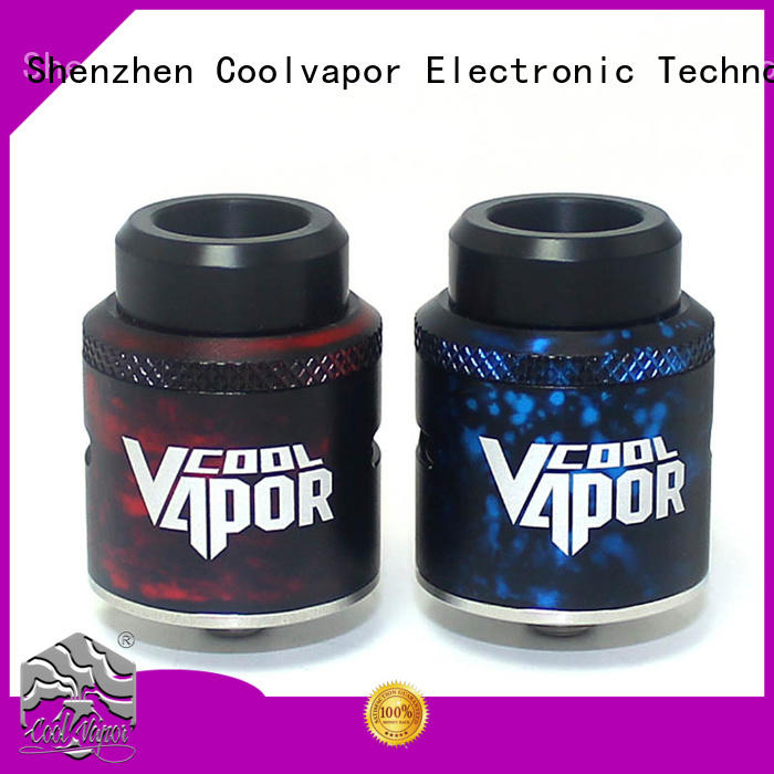 Coolvapor Latest good cloud chasing rda supply for flavor