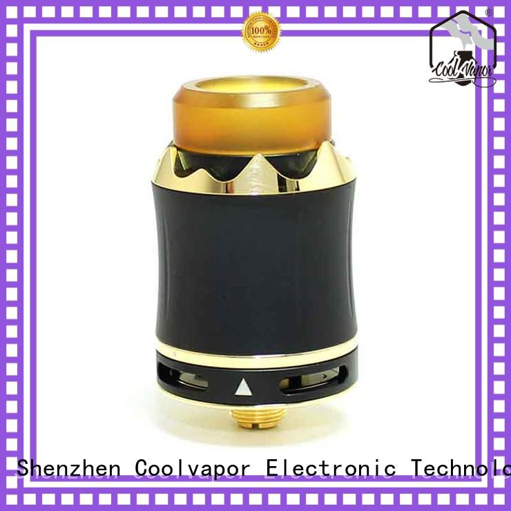 Coolvapor Wholesale good rda builds manufacturers for smokers