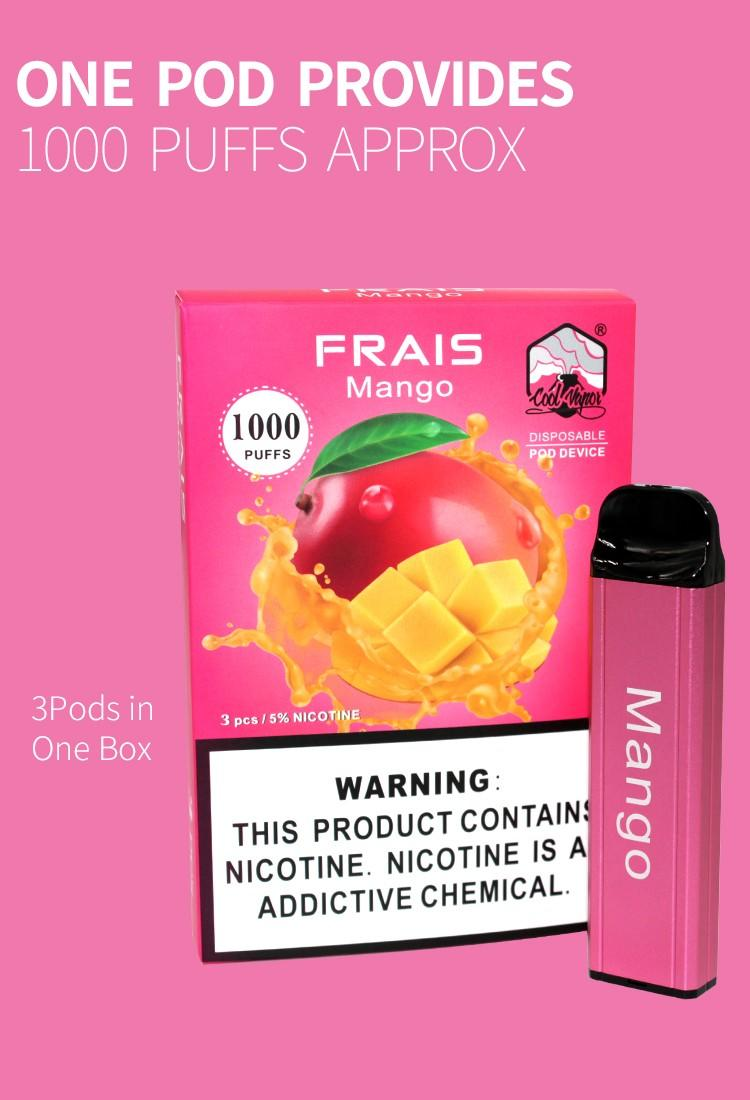 Coolvapor berry disposable pods company for regular juice