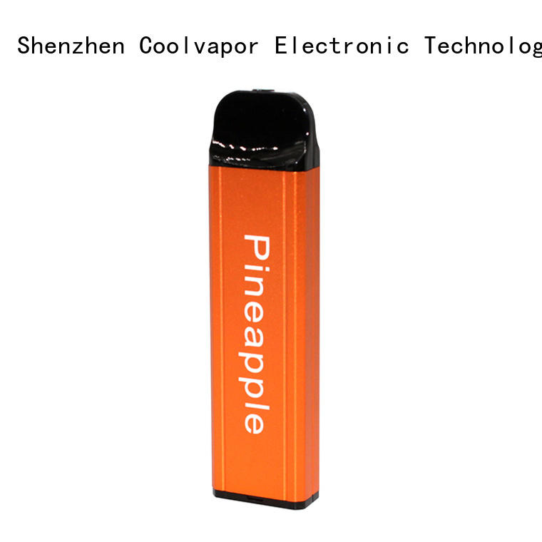 Coolvapor pineapple box pod suppliers for flavor